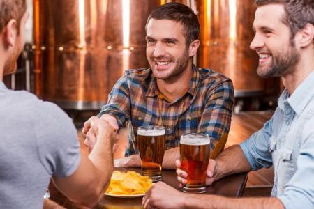 Craft Beer between friends