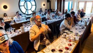Blind tasting at the California Wine Summit