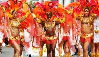 Mas band at Notting Hill Carnival, London, UK