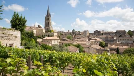 St Emilion in Bordeaux