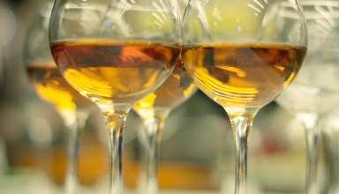 Orange wine or amber wine
