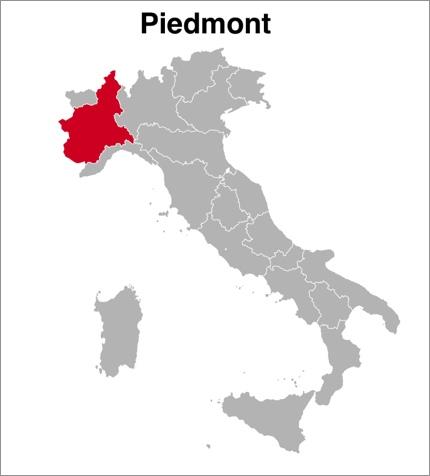 Piedmont (Piemonte), Italy