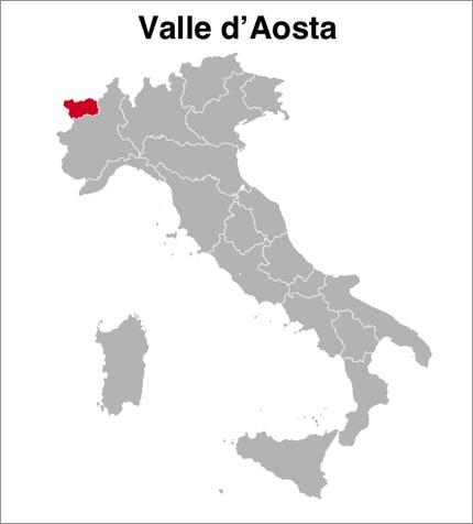 Valle d'Aosta (Aosta), Italy