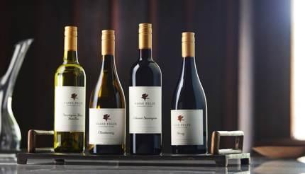 Cabernet Sauvignon, Chardonnay, Shiraz & Sauvignon Blanc Semillon